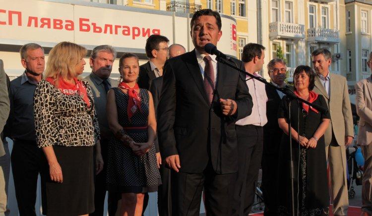 Георги Търновалийски към пловдивчани: Няма да ви предадем, на БСП й пука за хората