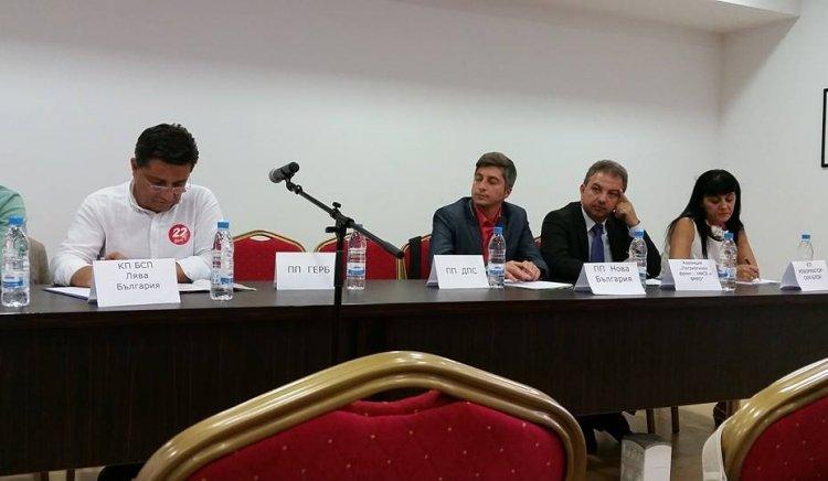 Екипът Търновалийски, Йорданов и Атанасов представи управленската програма на БСП ЛЯВА БЪЛГАРИЯ пред КНСБ в Пловдив