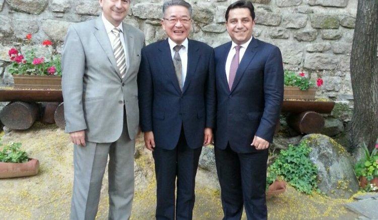 Зам.-председателят на Японската комунистическа партия Ясуо Огата посети Пловдив