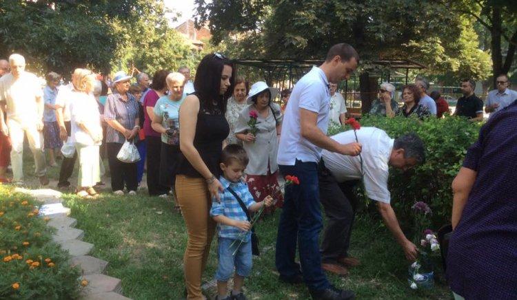 Социалисти от Пловдив почетоха паметта на Вапцаров