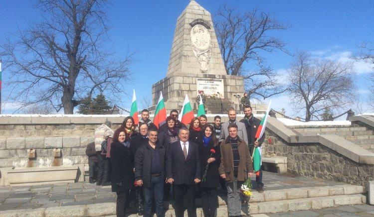 Пловдивските депутати на левицата участваха в общоградските чествания на националния празник